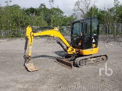 2015 JCB 8025 Mini Excavator (1 - 4.9 Tons)