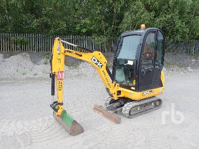 2017 JCB 8016 Mini Excavator (1 - 4.9 Tons)