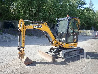 2017 JCB 8025 Mini Excavator (1 - 4.9 Tons)