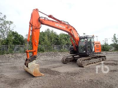 2013 HITACHI ZX225USRLC-5B Hydraulic Excavator