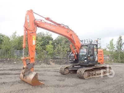 2017 HITACHI ZX225US-6 Hydraulic Excavator