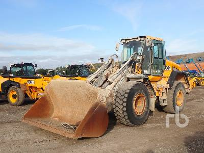 2017 JCB 457 Wheel Loader