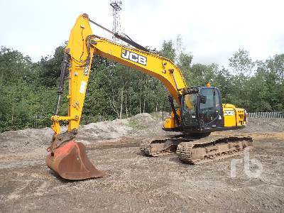 2017 JCB JS220 Hydraulic Excavator