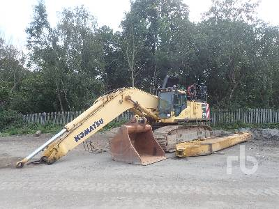 KOMATSU PC600 Long-Reach Hydraulic Excavator