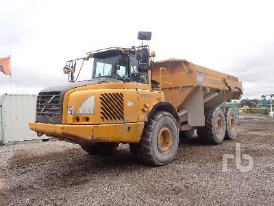 2002 VOLVO A30D 6x6 Articulated Dump Truck