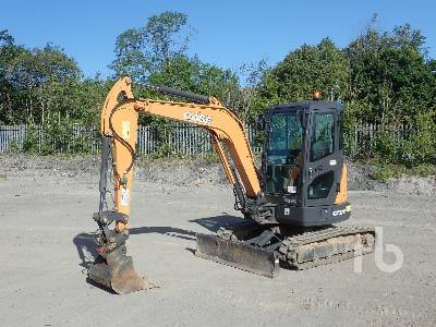 2017 CASE CX37C Mini Excavator (1 - 4.9 Tons)