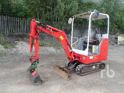 2014 BOBCAT E17 Mini Excavator (1 - 4.9 Tons)