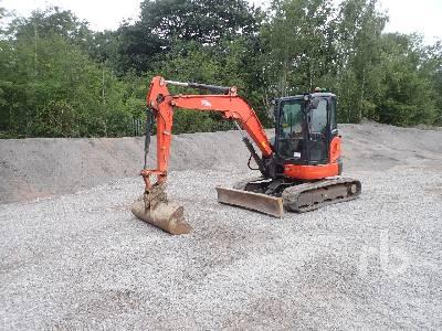 2014 KUBOTA U48-4 Mini Excavator (1 - 4.9 Tons)