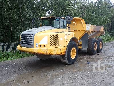 2002 VOLVO A25D 6x6 Articulated Dump Truck