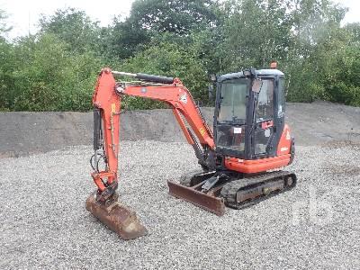 2015 KUBOTA KX61-3 Mini Excavator (1 - 4.9 Tons)