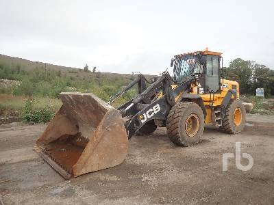 2012 JCB 436HT Wheel Loader
