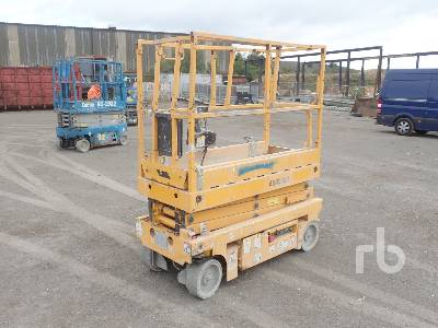 2012 HAULOTTE OPTIMUM 8 Electric Scissorlift