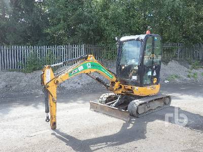2015 JCB 8025 Mini Excavator (1 - 4.9 Tons)