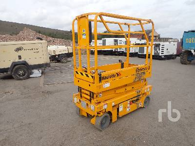 2005 HAULOTTE OPTIMUM 8 Electric Scissorlift
