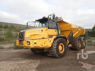 2014 BELL B50D 6x6 Articulated Dump Truck