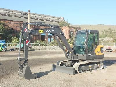 Unused 2020 VOLVO EC55D Midi Excavator (5 - 9.9 Tons)