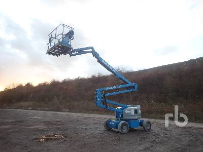 2017 GENIE Z45/25J Bi-Energy Electric Articulated Boom Lift