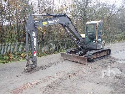 2016 VOLVO ECR88D Midi Excavator (5 - 9.9 Tons)