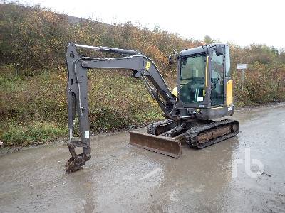2016 VOLVO EC35D Mini Excavator (1 - 4.9 Tons)