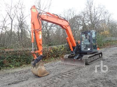 2014 HITACHI ZX85USB-5A Midi Excavator (5 - 9.9 Tons)