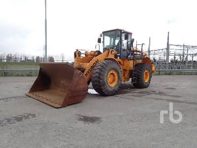 2006 HYUNDAI HL770 Wheel Loader