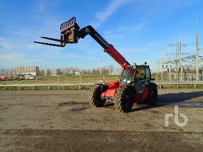 2012 MANITOU MT732 4x4x4 Telescopic Forklift Parts/Stationary Construction-Other