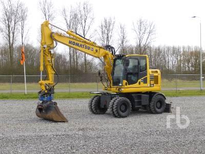 2018 KOMATSU PW148-10 Mobile Excavator