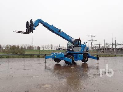 2014 GENIE GTH5021R Telescopic Forklift