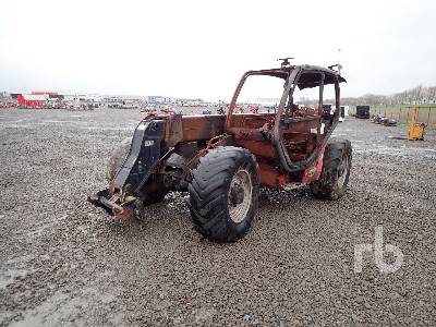 2014 MANITOU MLT735 120PS P0 4x4x4 Telescopic Forklift Parts/Stationary Construction-Other