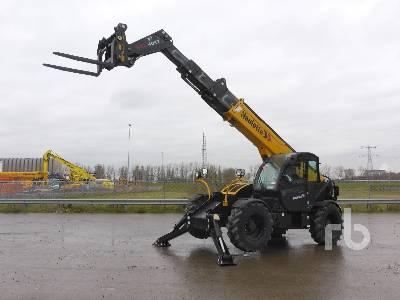 2014 HAULOTTE HTL4017 4x4x4 Telescopic Forklift