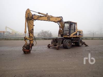 1996 CATERPILLAR M315 Railroad Mobile Excavator