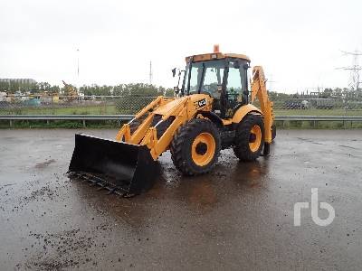 2007 JCB 4CX 4x4x4 Loader Backhoe