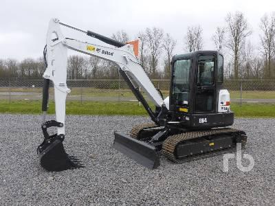 Unused 2018 BOBCAT E64 Midi Excavator (5 - 9.9 Tons)