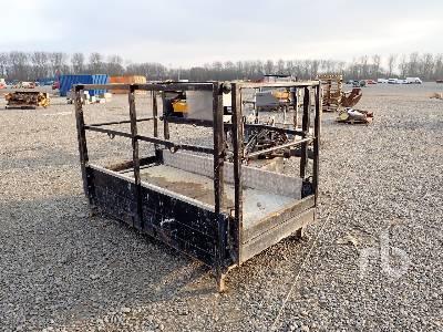 Q/C HYDRAULIC Tilting Telescopic Forklift Man Basket