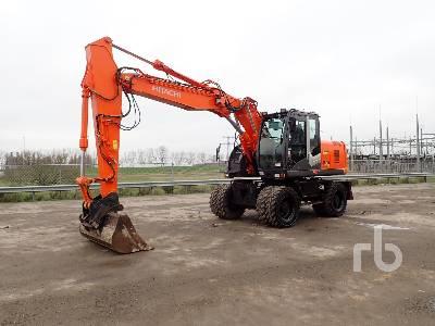 2013 HITACHI ZX170W-3 Mobile Excavator