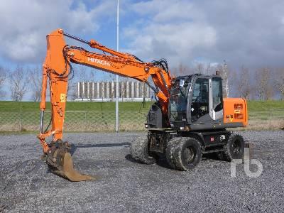 2012 HITACHI ZX140W-3 Mobile Excavator