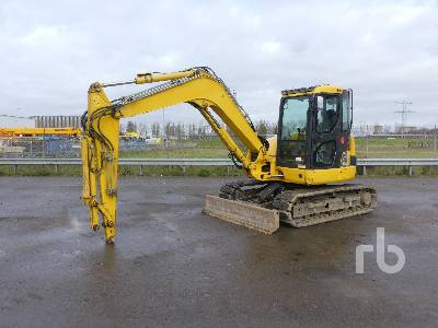 2015 KOMATSU PC80MR-3 Midi Excavator (5 - 9.9 Tons)