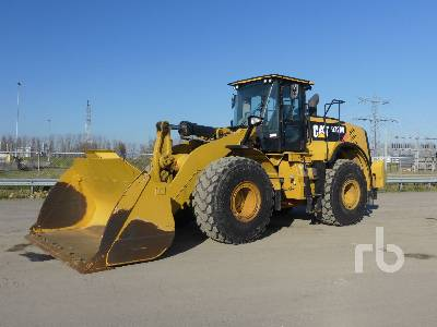 2015 CATERPILLAR 972M Wheel Loader