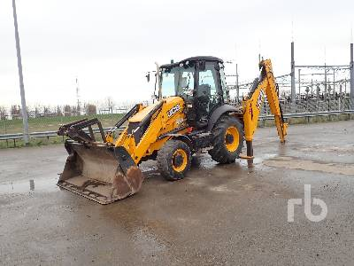 2015 JCB 3CX4T Loader Backhoe