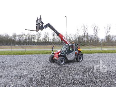 2016 MANITOU MT625H EASY 4x4x4 Telescopic Forklift