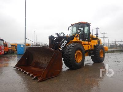 2014 JCB 467ZX Wheel Loader