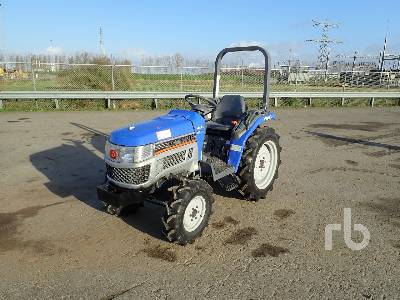 ISEKI T122F 4WD Utility Tractor