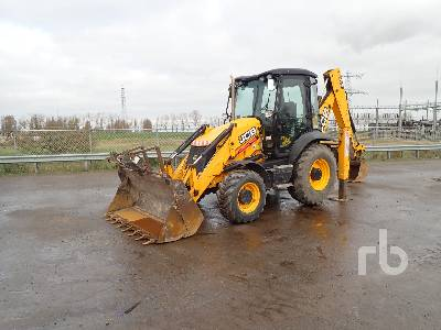 2012 JCB 3CX4T 4x4 Loader Backhoe