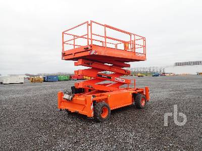 2012 HOLLAND LIFT Q135DL24 4x4 Scissorlift