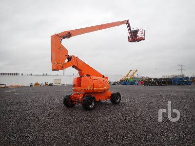 2007 JLG 800AJ 4x4 Articulated Boom Lift