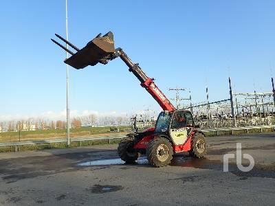 2015 MANITOU MT932 4x4x4 Telescopic Forklift