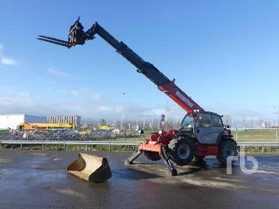 2014 MANITOU MT1840 4x4x4 Telescopic Forklift