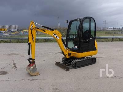 2015 JCB 8018 Mini Excavator (1 - 4.9 Tons)