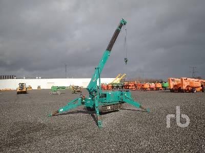 2007 MAEDA MC305CRMSE2 3 Ton Crawler Crane