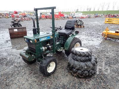 ISEKI TX1300 2WD Utility Tractor